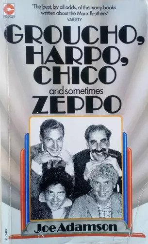 Groucho, Harpo, Chico and sometimes Zeppo cover