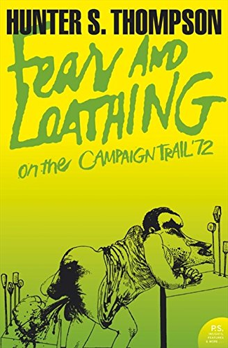 Fear and Loathing on the Campaign Trail '72 cover