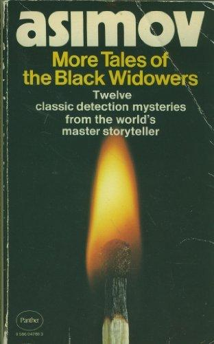 More Tales of the Black Widowers cover