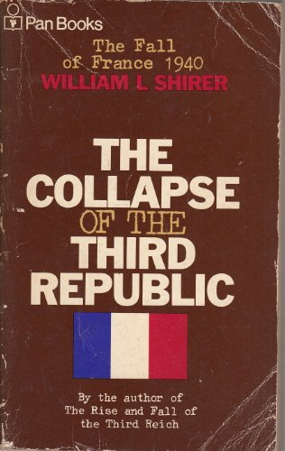 The Collapse of the Third Republic cover