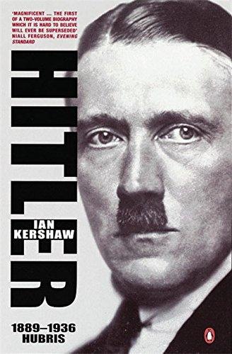Hitler 1889-1936 : Hubris cover